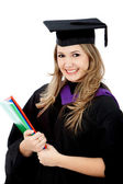 Graduated woman — Stock Photo