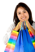 Shopping girl — Photo