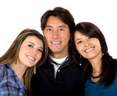 Brother and sisters — Stock Photo