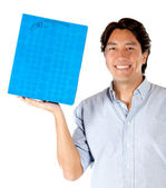 Man with shopping bag — Stock Photo