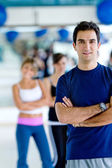 Gym man — Stock Photo
