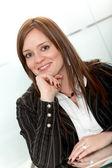 Mujer de negocios seguros — Foto de Stock