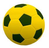Football 3d isolé — Photo