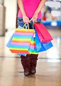 сумки для покупок — Стоковое фото