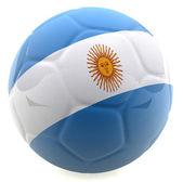 3D Argentina football — Stock Photo