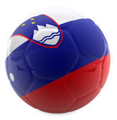3D Slovenia football — Stock Photo