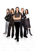 女业务团队 — 图库照片