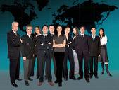 Business team worlwide — Stock Photo