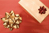 Gifts background — Stock Photo