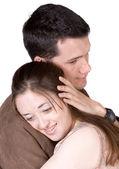 Couple hugging — Stock Photo