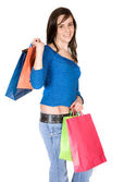 Casual shopping — Stock Photo