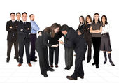 Business developing team — Foto Stock
