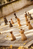 Street chess — Stock Photo