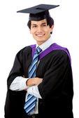 Retrato de hombre de graduación — Foto de Stock