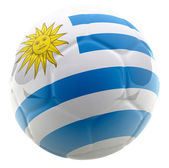 3D Uruguay football — Stock Photo