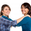 Happy sisters — Stock Photo #7750011