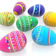 Easter eggs — Stock Photo #7750068
