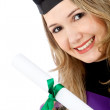 Graduation woman portrait — Stock Photo
