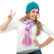Casual woman portrait - Stockfoto