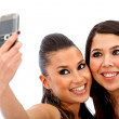 Stock Photo: Women taking picture