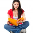 beautiful student — Stock Photo #7750312