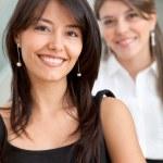 Friendly business women portrait — Stock Photo #7750439