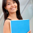 Beautiful student — Stock Photo #7750449