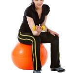 Gym woman portrait — Stock Photo #7750500
