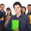Group of students — Stock Photo #7750511