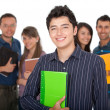 Stock Photo: Group of students
