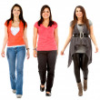 Women walking — Stock Photo #7750533