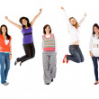 Happy group of women — Stock Photo #7750549