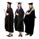mujeres de graduación — Foto de Stock