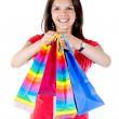 Woman with shopping bags — Stock Photo #7750585