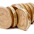 Pile of coins — Stock Photo #7750602