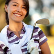 Royalty-Free Stock Photo: Female golf player