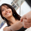 Business handshake — Foto de stock #7750735