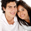 Beautiful couple portrait — Stock Photo #7750798