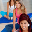 Women at the gym — Stock Photo #7750816