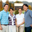 Group of golf players — Stock Photo #7750920