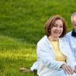 Foto Stock: Couple enjoying their retirement