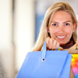 Beautiful shopping woman — Stock Photo #7750968
