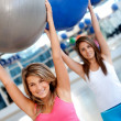 Women in aerobics class — Stock Photo #7750974