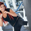 woman kickboxing — Stock Photo #7751092