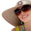 Summery woman — Stock Photo