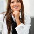 Beautiful business woman — Stockfoto