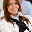 Beautiful business woman — Stock Photo #7751175