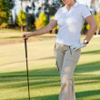 Woman playing golf — Stock Photo #7751434