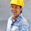 Stock Photo: Happy construction worker