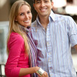 Happy shopping couple — Stock Photo #7751454